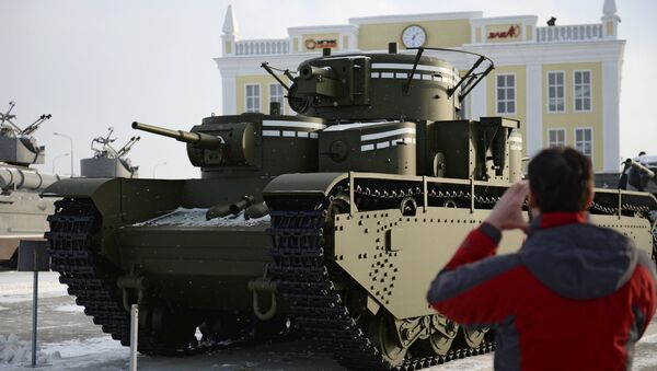 Leyenda recuperada: T-35, un tanque soviético sin análogos. - Sputnik Mundo