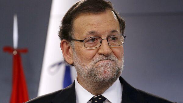 Mariano Rajoy, presidente del Gobierno en funciones, - Sputnik Mundo