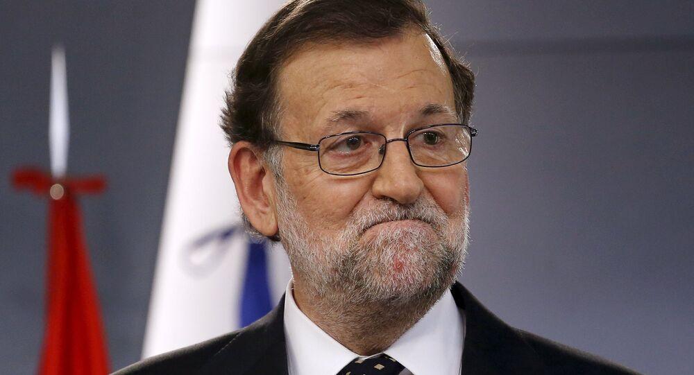 Mariano Rajoy, presidente del Gobierno en funciones,