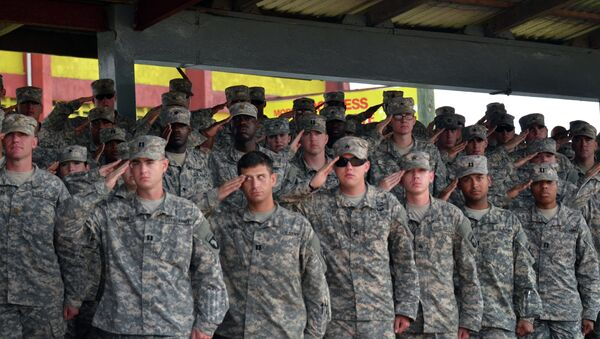 US soldiers of the 101st Airborne Division (Air Assault) - Sputnik Mundo