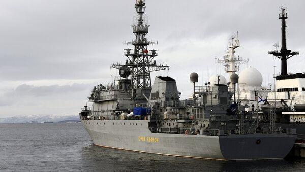 Buque para misiones especiales Yuri Ivanov de la Flota del Norte de Rusia - Sputnik Mundo