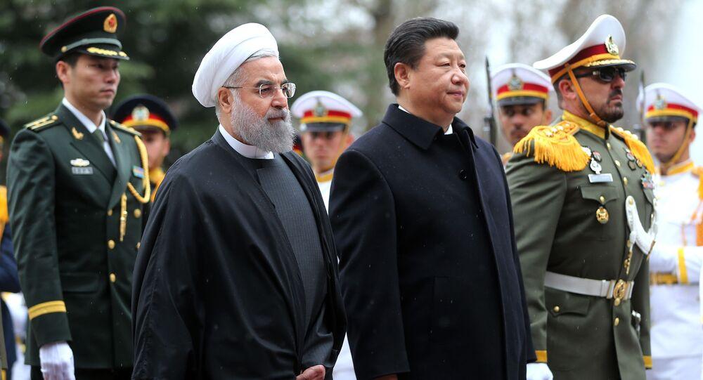 Líderes de China e Irán