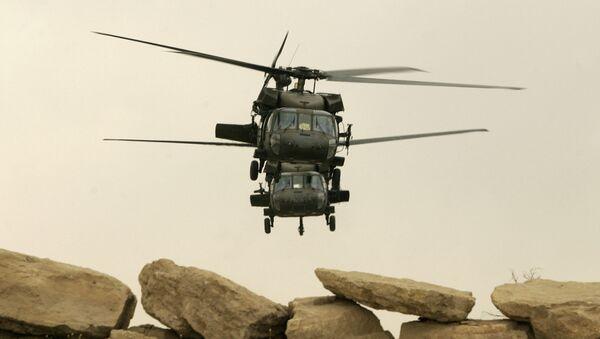 Helicópteros estadounidenses Black Hawk - Sputnik Mundo