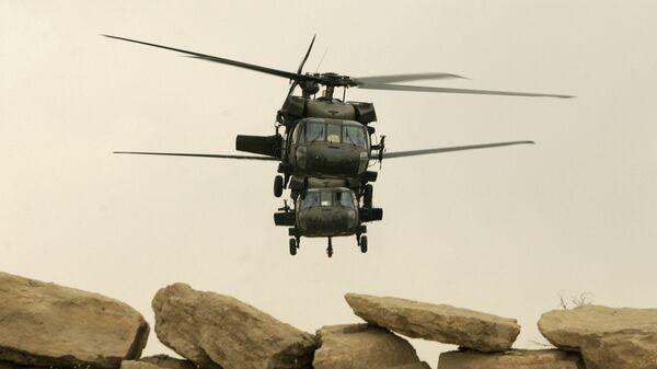 Aviones estadounidenses Black Hawk (archivo) - Sputnik Mundo