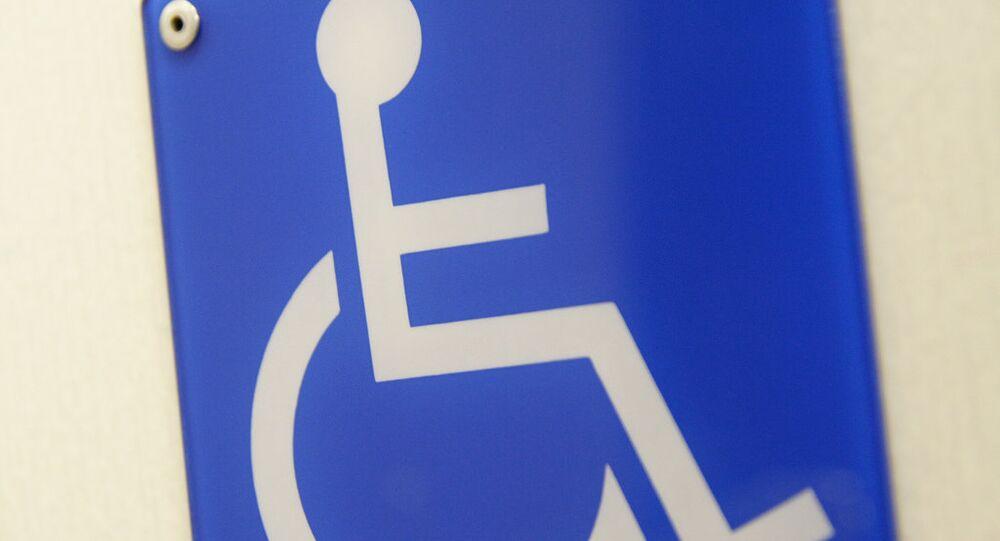 Símbolo de la silla de ruedas