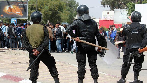 Policía en Túnez (Archivo) - Sputnik Mundo