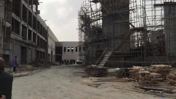 Derrumbe de la mezquita en la ciudad kuwaití de Sabah al Ahmad - Sputnik Mundo