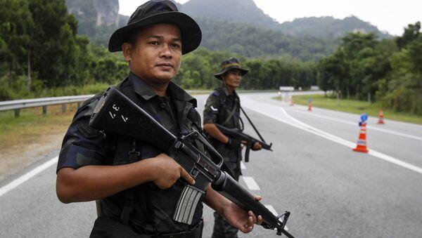 Policía malasia - Sputnik Mundo