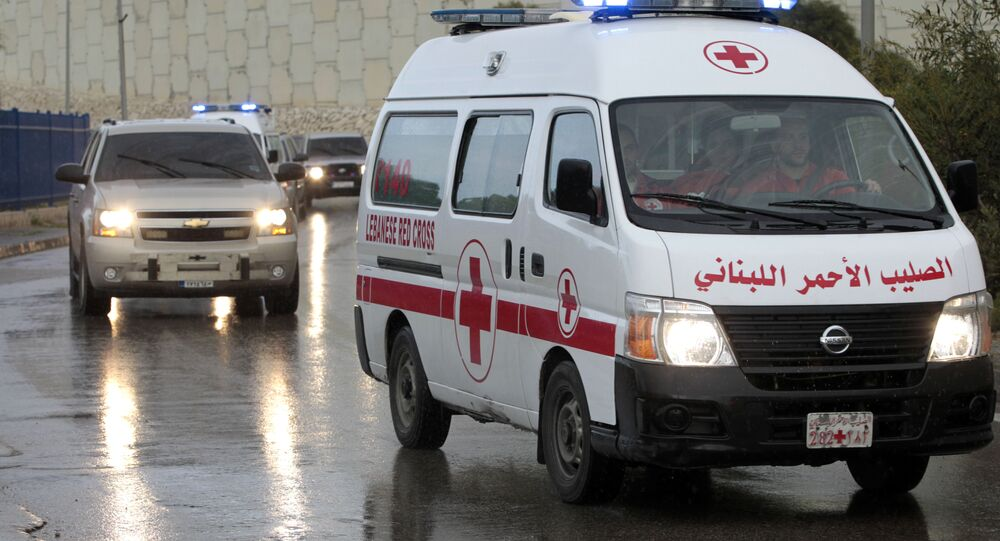 Ambulancia en Siria (archivo)