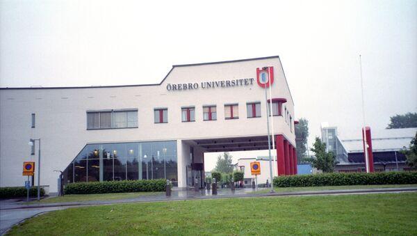 Universidd de la ciudad sueca de Orebro, archivo - Sputnik Mundo
