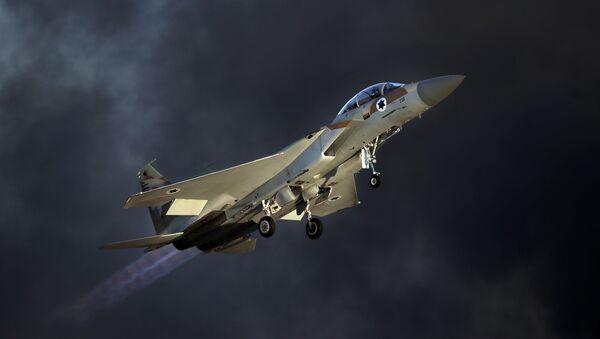 Avión de las Fuerzas Aéreas de Israel (archivo) - Sputnik Mundo