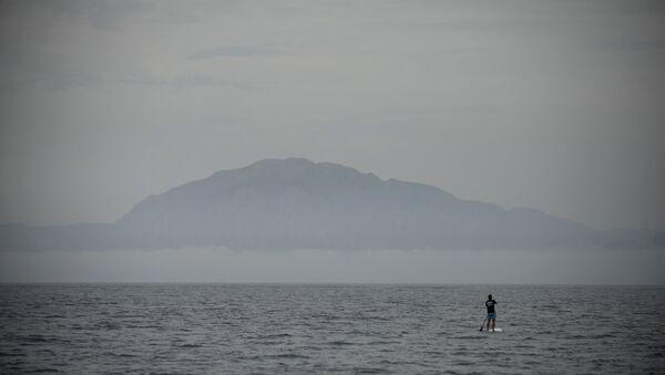 El estrecho de Gibraltar en el Mar de Alborán - Sputnik Mundo