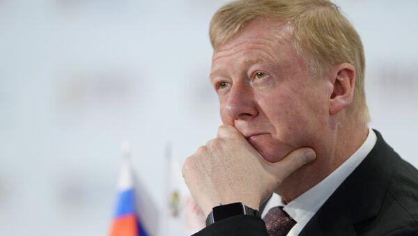 Anatoli Chubáis, jefe de Rosnano - Sputnik Mundo