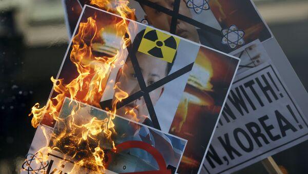 EEUU no espera que Pyongyang renuncie a su programa nuclear tras la resolución - Sputnik Mundo