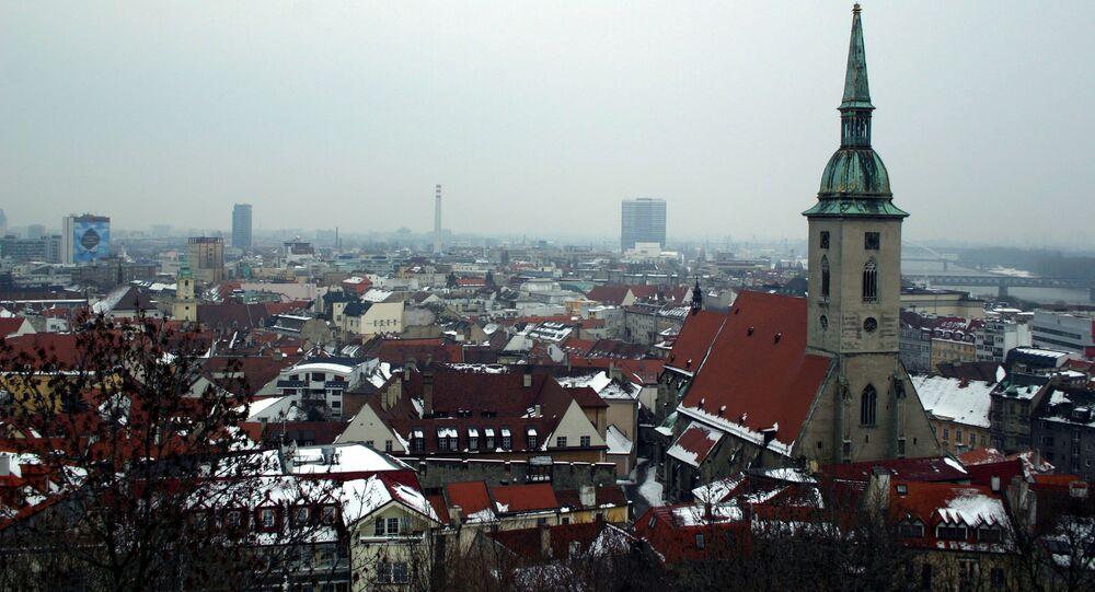 Bratislava, la capital de Eslovaquia
