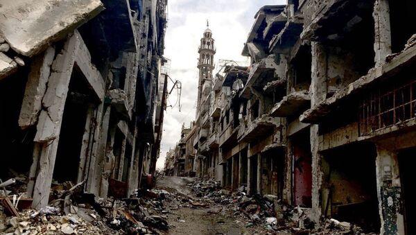 La situación en Homs, Siria (archivo) - Sputnik Mundo