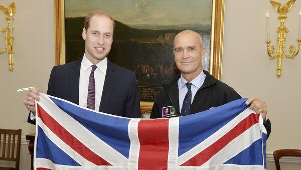 Príncipe Guillermo y explorador británico, Henry Worsley - Sputnik Mundo
