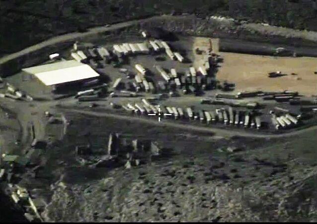 Los camiones cisterna de Daesh (archivo)