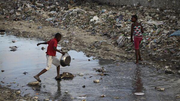 Los niños en Haití - Sputnik Mundo