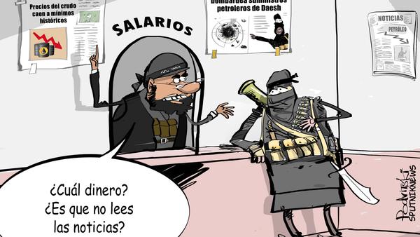 Tiempos difíciles para Daesh - Sputnik Mundo