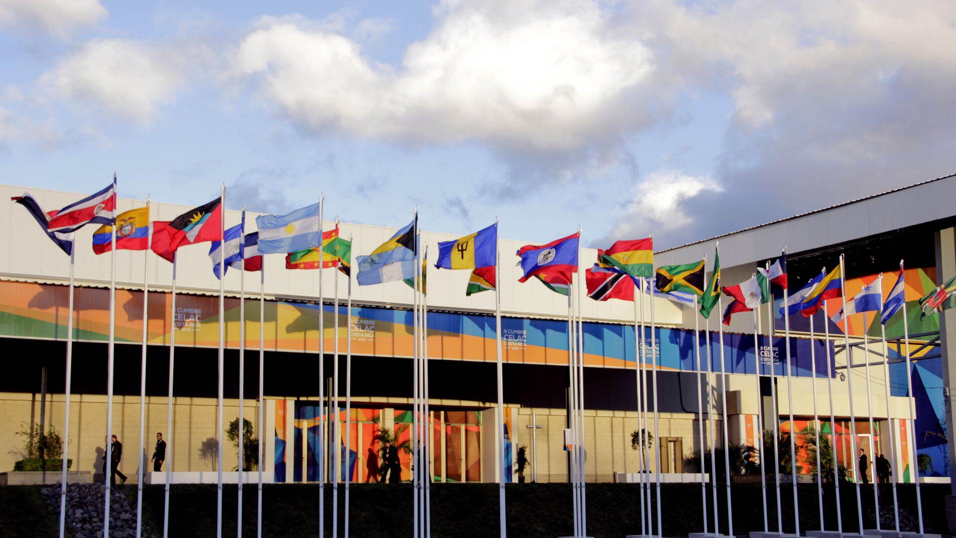 Banderas de los países miembros de CELAC - Sputnik Mundo, 1920, 24.07.2021