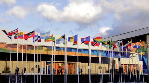 Banderas de los países miembros de CELAC - Sputnik Mundo
