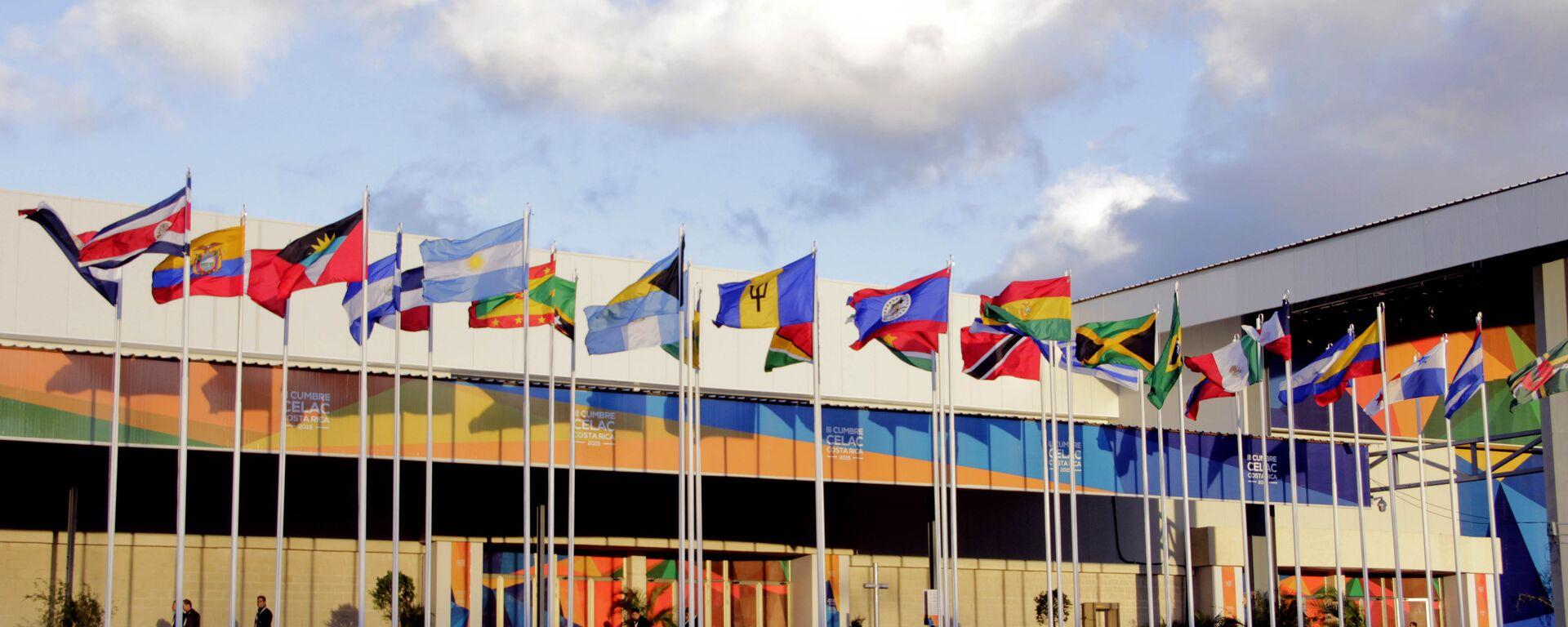 Banderas de los países miembros de CELAC - Sputnik Mundo, 1920, 14.09.2021
