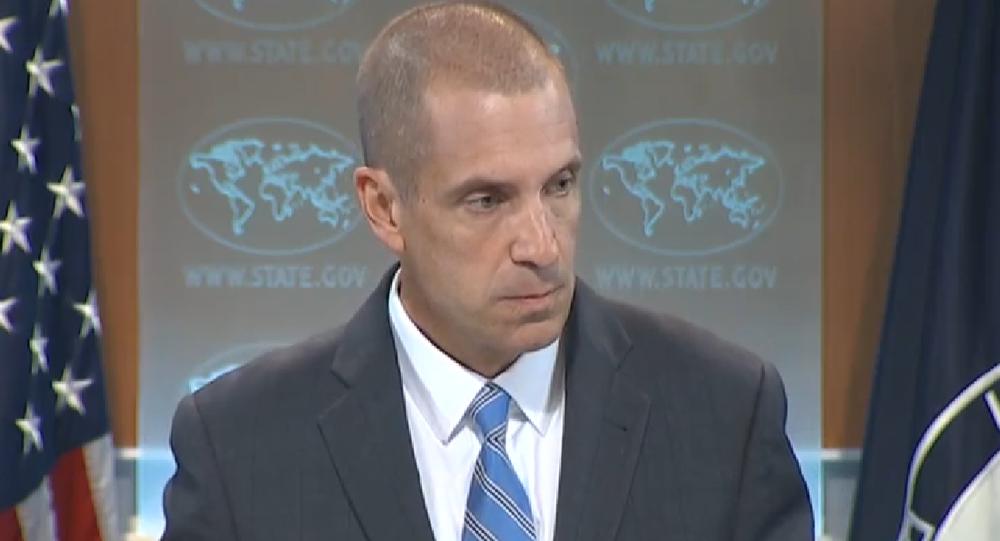 Mark Toner, portavoz del Departamento de Estado