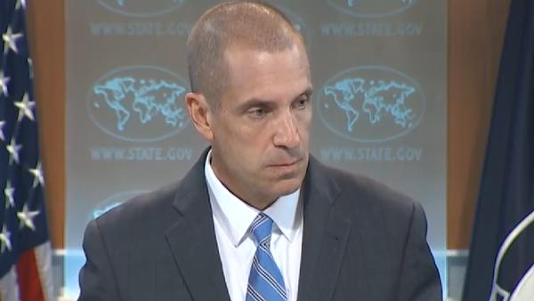 Mark Toner, portavoz del Departamento de Estado - Sputnik Mundo