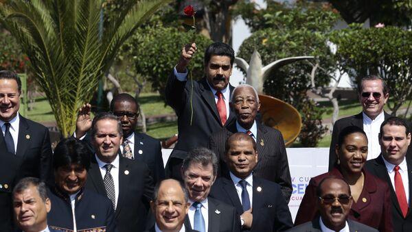 IV Cumbre de CELAC, Quito - Sputnik Mundo