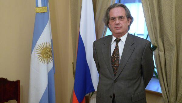 Pablo Tettamanti, embajador de Argentina en Rusia - Sputnik Mundo