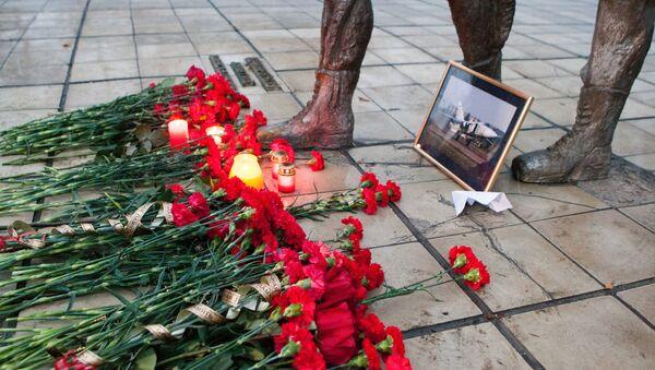 Homenaje a Oleg Peshkov, piloto del Su-24 derribado por la aviación turca sobre Siria - Sputnik Mundo