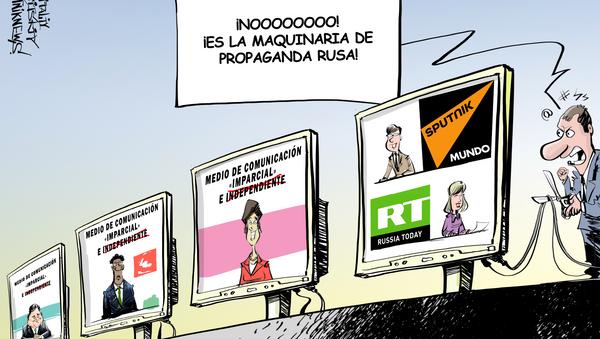 ¡No a la propaganda rusa! - Sputnik Mundo