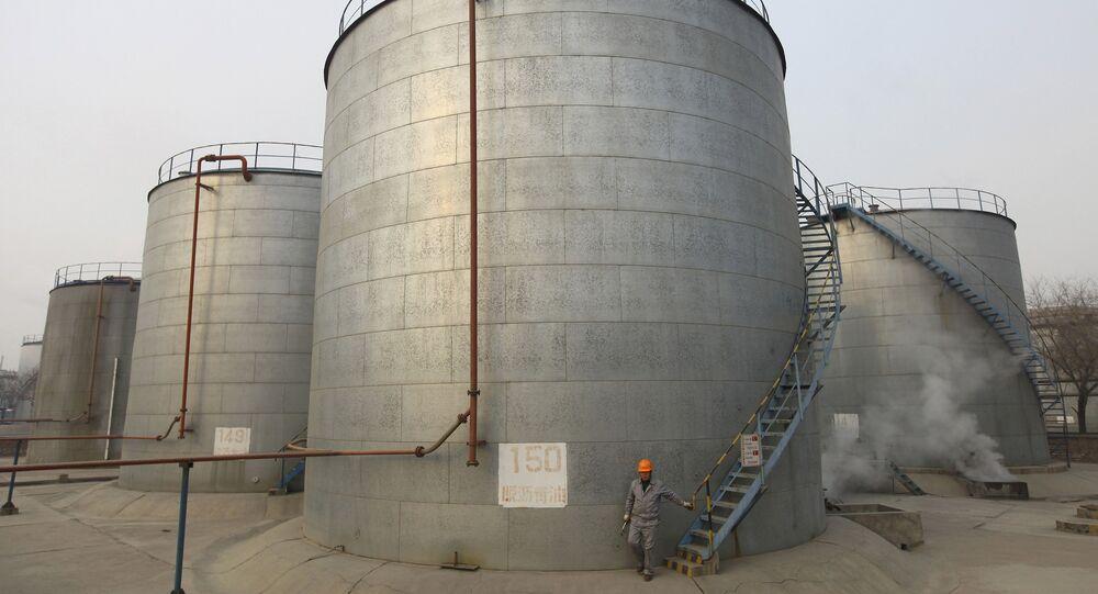 Tanques de almacenamiento de petróleo