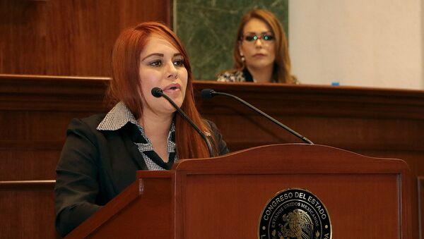 Lucero Sánchez, diputada mexicana - Sputnik Mundo