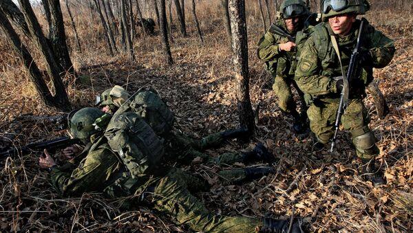 Las maniobras antiterroristas del Ejército ruso en 2015 - Sputnik Mundo
