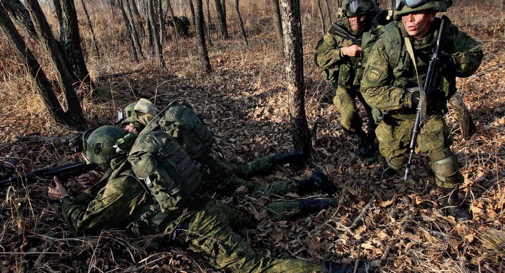 Las maniobras antiterroristas del Ejército ruso (archivo)
