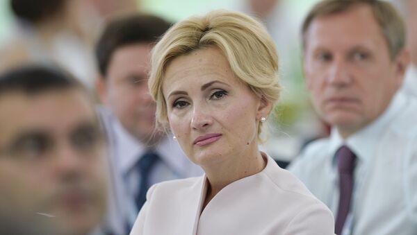 Irina Yarovaya, diputada de la Duma Estatal rusa - Sputnik Mundo