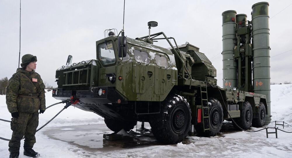 Sistema de misiles antiaéreos S-400 Triumf