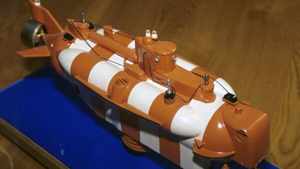Un modelo del buque Bester-1 - Sputnik Mundo
