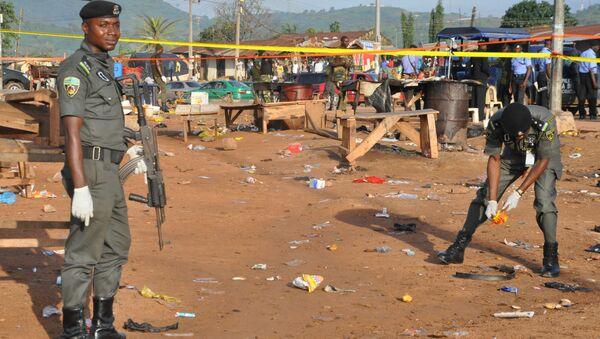 Policía de Nigeria - Sputnik Mundo