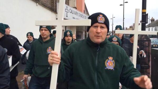 Patrulla cristiana en la ciudad británica de Luton - Sputnik Mundo