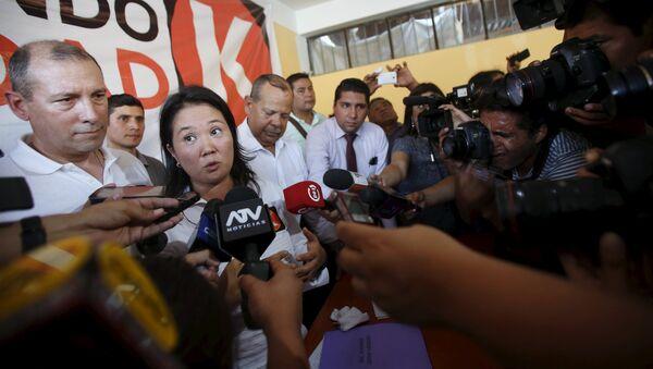 Peruvian presidential candidate Keiko Fujimori - Sputnik Mundo