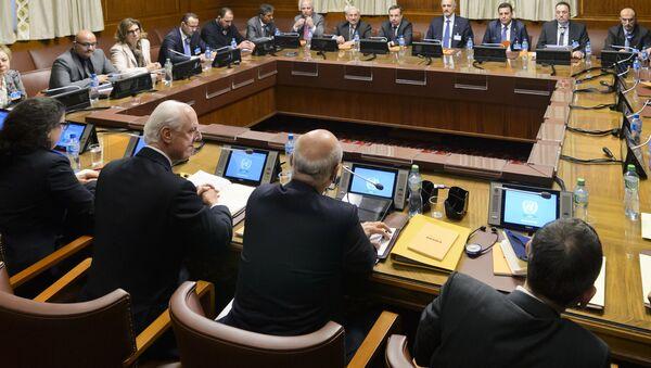 Las negociaciones en Ginebra - Sputnik Mundo