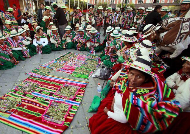 Las indígenas de Bolivia (archivo)