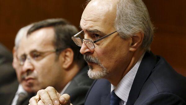 Bashar Jaafari, el embajador de Siria ante la ONU - Sputnik Mundo