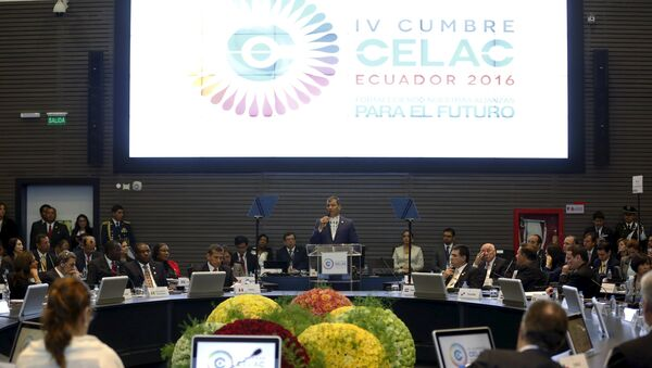 La IV Cumbre de la Comunidad de Estados Latinoamericanos y Caribeños (CELAC) - Sputnik Mundo
