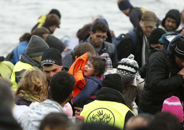 Los refugiados llegan a Europa