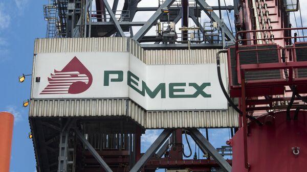 El logo de Pemex - Sputnik Mundo