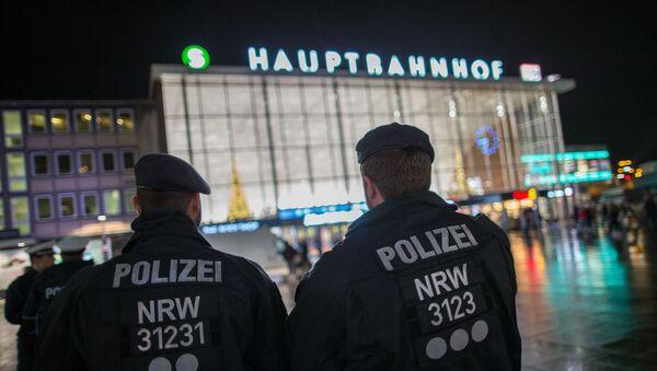 La policía alemana - Sputnik Mundo